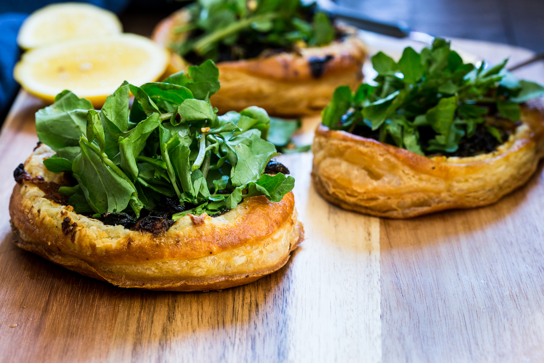 Caramelized Onion, Goat Cheese and Watercress Tart by ...